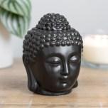 Aromalampa Svart Buddha