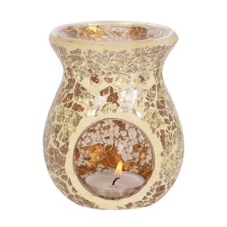 Aromalampa med krackelerad glas