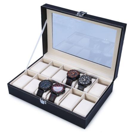 Klocklåda / Klockbox för 12 klockor