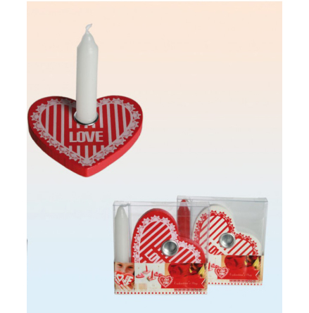 Ljushållare hjärta 2 Pack