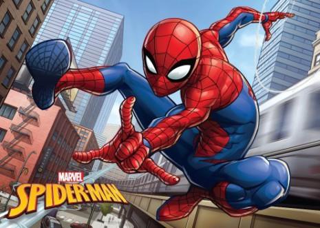 Badrumsmatta för barn Spindelmannen