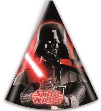 Darty Vader Partyhatt 6 Pack