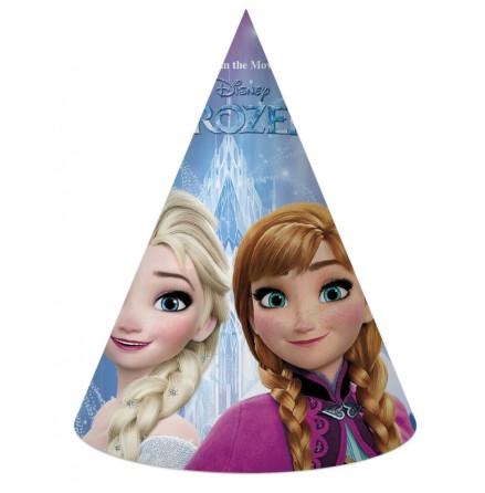 Anna/Elsa Partyhatt 6 Pack