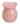 Aromalampa Rosa Hjärta