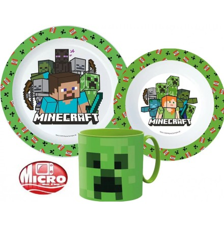 Måltidsset Minecraft Creeper