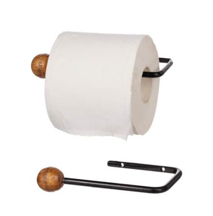 Toapappershållare Metall