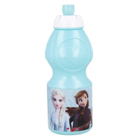 Vattenflaska Anna/Elsa Ljusblå