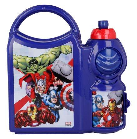 Matlåda med vattenflaska Avengers