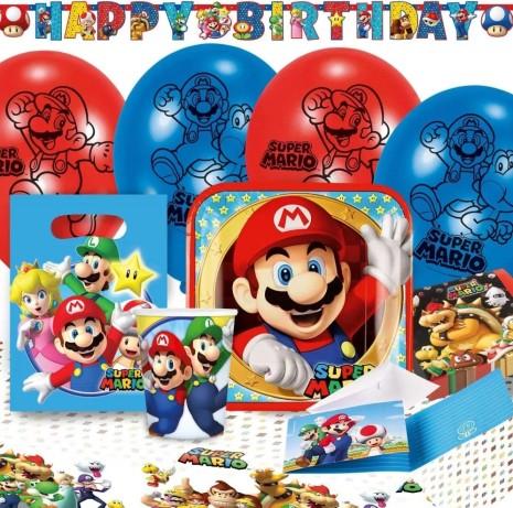 Stort Kalaspaket med Super Mario